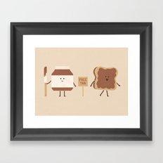 Free Tan Framed Art Print
