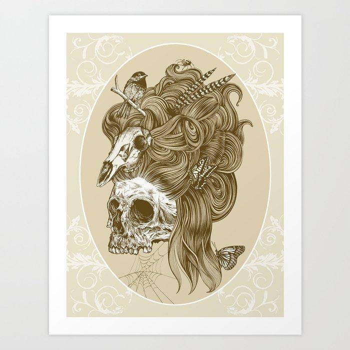 Formal portrait Art Print