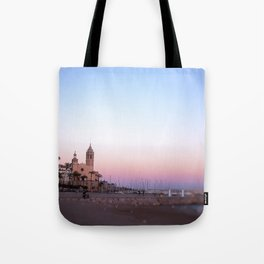 Goodnight from Sitges Tote Bag