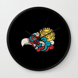 Eagle Sun Wall Clock