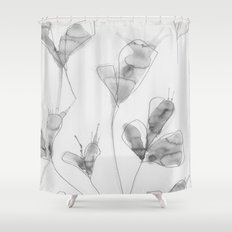 January flowers Shower Curtain