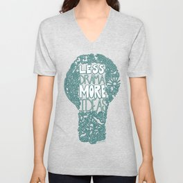 Less Drama More Ideas Unisex V-Neck