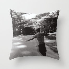 My Home is in My Head Throw Pillow