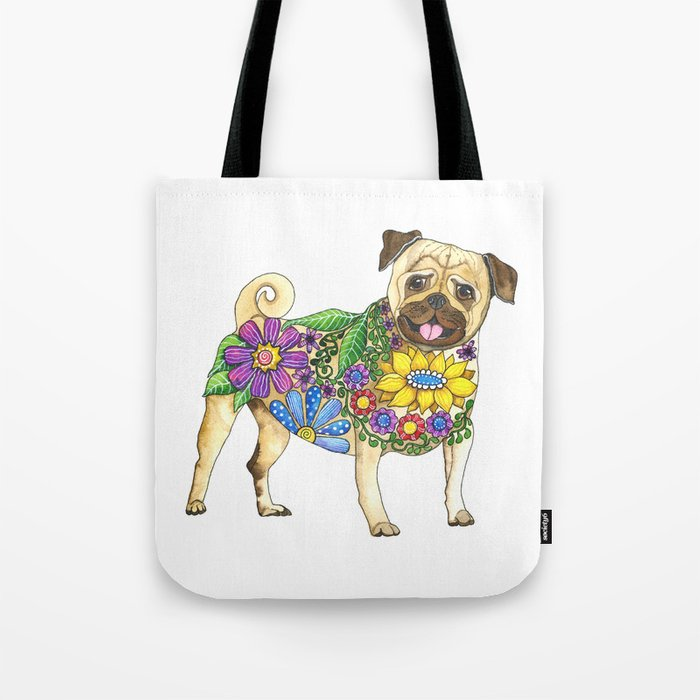 The Pugster Tote Bag