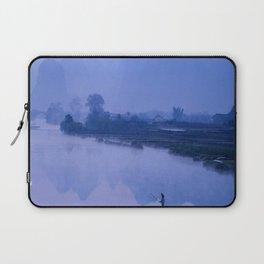LI RIVER AT DAWN-GUILIN CHINA Laptop Sleeve