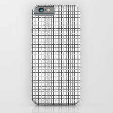 Weave Black and White Slim Case iPhone 6s