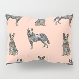 Australian Cattle Dog blue heeler dog breed gifts for cattle dog owners Pillow Sham