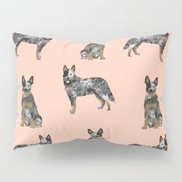 Australian Cattle Dog blue heeler dog breed gifts for cattle dog owners Pillow Sham