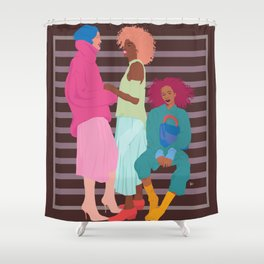 Girlfriends Shower Curtain