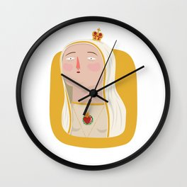 Our Lady Of Fatima Wall Clock
