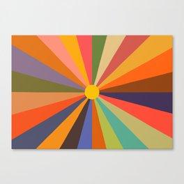 Sun - Soleil Canvas Print