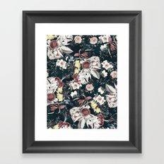 Flowers of Darkness Framed Art Print