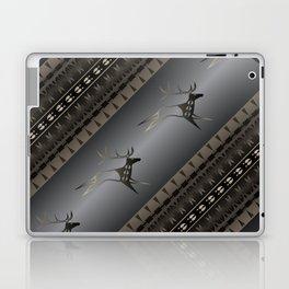 Elk Spirit (Gray) Laptop & iPad Skin