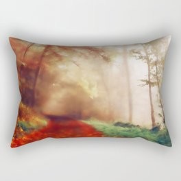 Tip Toe Through The Forest Rectangular Pillow