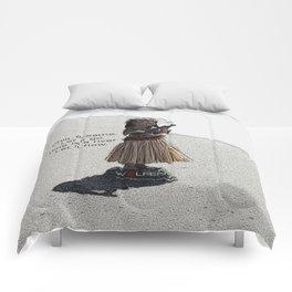 Wolfen Hula Babe Comforters