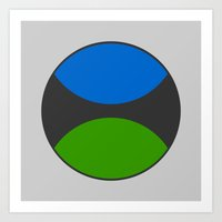 TSSC Circle Logo Art Print
