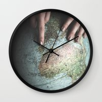 spain Wall Clocks featuring Spain by Haley Marshall Photography