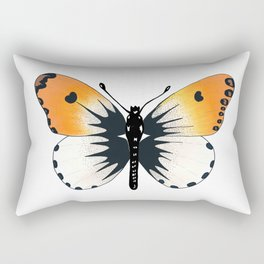 Butterfly with orange wings Rectangular Pillow