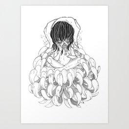Sigh Art Print