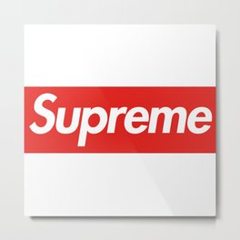 supreme art original new 2018 style fashion new hot 2019 trend logo cute Metal Print