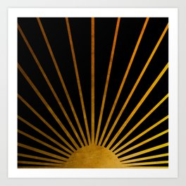 Magical Sunlight Art Print