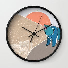 My home! Wall Clock