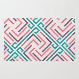 Pre-Columbian pattern Rug