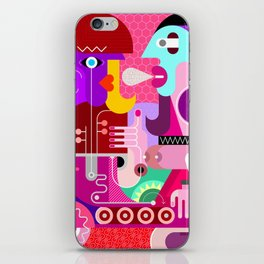 A Couple iPhone Skin
