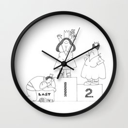 One, Two, Last Wall Clock