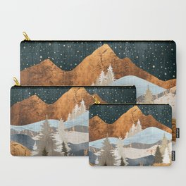 Winter Stars Carry-All Pouch