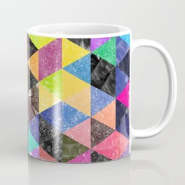 Abstract Geometric Background Coffee Mug