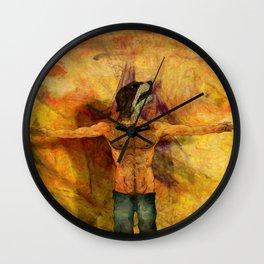 I, Jagger Wall Clock