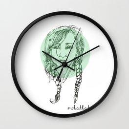 Braided Beauty Wall Clock