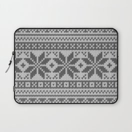 Winter knitted pattern4 Laptop Sleeve