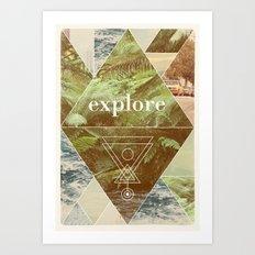 Explore - I Art Print