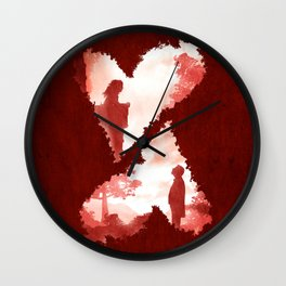 Secret Lovers Meet Wall Clock