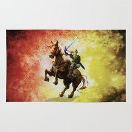 Legend Of Zelda Link Adventure Rug