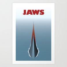 Jaws V2 Art Print