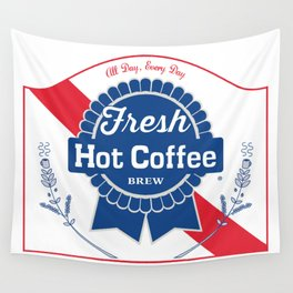 Blue Ribbon Roast Wall Tapestry