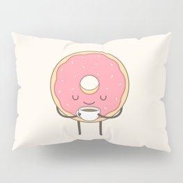 donut loves coffee Pillow Sham