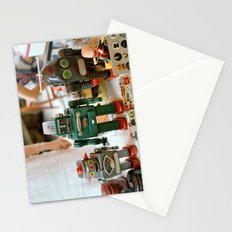 Vintage Robots Stationery Cards