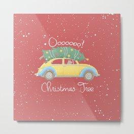 O Christmas Tree Metal Print
