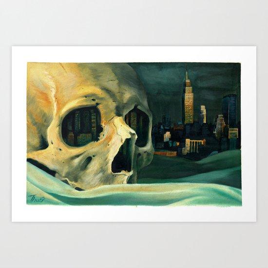 Civilizations Oil Painting Art Print