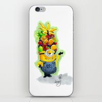 minion iPhone & iPod Skins featuring Minion by Siney
