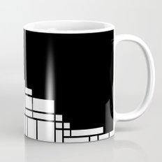 Map Black Boarder Mug