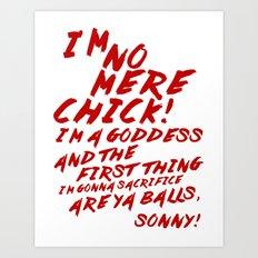 Psycho Beach Party ~ ANN BOWMAN! Art Print