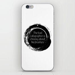 Korean proverb iPhone Skin