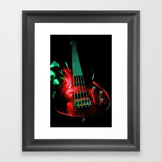 Red Bass  Framed Art Print