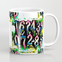numbers Mugs featuring Numbers! by gasponce