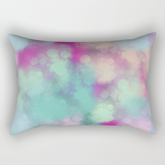 Abstract 3 Rectangular Pillow
